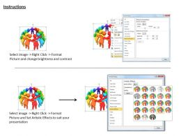 1113 3d Image Of Team Coaching Ppt Graphics Icons Powerpoint