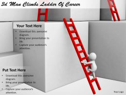 1113_3d_man_climbs_ladder_of_career_ppt_graphics_icons_powerpoint_Slide01