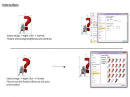 1113 3D Man In Thinking Position Ppt Graphics Icons Powerpoint