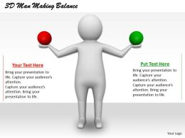 1113_3d_man_making_balance_ppt_graphics_icons_powerpoint_Slide01