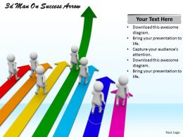 1113_3d_man_on_success_arrow_ppt_graphics_icons_powerpoint_Slide01
