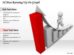 1113_3d_man_running_up_on_graph_ppt_graphics_icons_powerpoint_Slide01