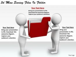 1113_3d_man_saving_files_in_folder_ppt_graphics_icons_powerpoint_Slide01