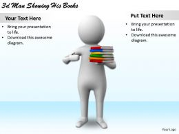 1113_3d_man_showing_his_books_ppt_graphics_icons_powerpoint_Slide01