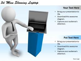 1113_3d_man_showing_laptop_ppt_graphics_icons_powerpoint_Slide01