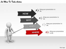 1113 3d Man To Take Action Ppt Graphics Icons Powerpoint