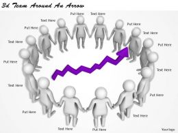 1113_3d_team_around_an_arrow_ppt_graphics_icons_powerpoint_Slide01