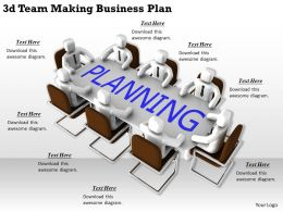 1113 3d Team Making Business Plan Ppt Graphics Icons Powerpoint