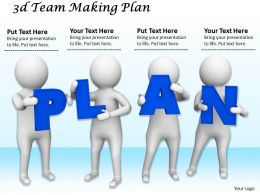 1113 3d Team Making Plan Ppt Graphics Icons Powerpoint