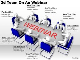 1113 3d Team On An Webinar Ppt Graphics Icons Powerpoint