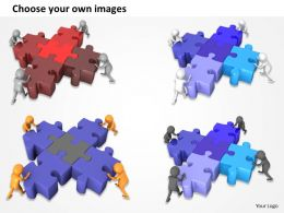 1113 3d Team Working Together Ppt Graphics Icons Powerpoint