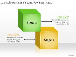 1113_business_ppt_diagram_2_designer_step_boxes_for_business_powerpoint_template_Slide01