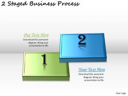 1113 Business Ppt Diagram 2 Staged Business Process Powerpoint Template