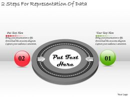 1113 Business Ppt diagram 2 Steps For Representation Of Data Powerpoint Template