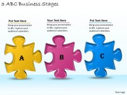 1113 Business Ppt diagram 3 ABC Business Stages Powerpoint Template