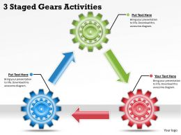 1113 Business Ppt diagram 3 Staged Gears Activities Powerpoint Template