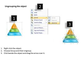 1113 Business Ppt diagram 3 Staged Pyramid Design Process Powerpoint Template