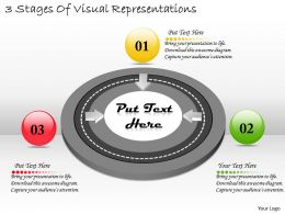 1113 Business Ppt diagram 3 Stages Of Visual Representations Powerpoint Template
