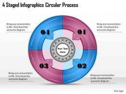 1113 Business Ppt diagram 4 Staged Infographics Circular Process Powerpoint Template