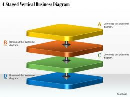 1113_business_ppt_diagram_4_staged_vertical_business_diagram_powerpoint_template_Slide01
