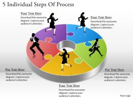 1113 Business Ppt diagram 5 Individual Steps Of Process Powerpoint Template