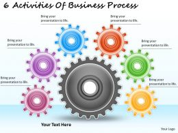 1113 Business Ppt diagram 6 Activities Of Business Process Powerpoint Template
