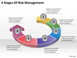 1113_business_ppt_diagram_6_stages_of_risk_management_powerpoint_template_Slide01