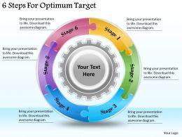 1113_business_ppt_diagram_6_steps_for_optimum_target_powerpoint_template_Slide01