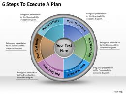 1113_business_ppt_diagram_6_steps_to_execute_a_plan_powerpoint_template_Slide01