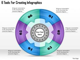 1113_business_ppt_diagram_6_tools_for_creating_infographics_powerpoint_template_Slide01