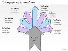 1113_business_ppt_diagram_7_diverging_arrows_business_process_powerpoint_template_Slide01