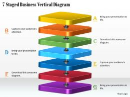 1113 Business Ppt Diagram 7 Staged Business Vertical Diagram Powerpoint Template