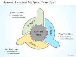 1113_business_ppt_diagram_arrows_showing_different_directions_powerpoint_template_Slide01