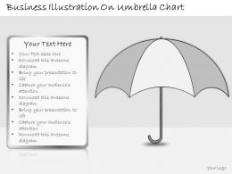 1113 Business Ppt Diagram Business Illustration On Umbrella Chart Powerpoint Template