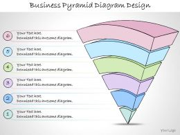 1113 Business Ppt Diagram Business Pyramid Diagram Design Powerpoint Template