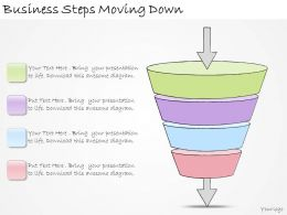 1113 Business Ppt Diagram Business Steps Moving Down Powerpoint Template