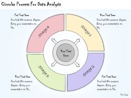 1113 Business Ppt Diagram Circular Process For Data Analysis Powerpoint Template