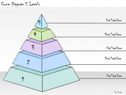 1113_business_ppt_diagram_cone_diagram_5_levels_powerpoint_template_Slide01