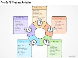 1113 Business Ppt Diagram Details Of Business Activities Powerpoint Template