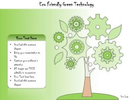 1113 Business Ppt Diagram Eco Friendly Green Technology Powerpoint Template