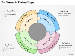 1113 Business Ppt Diagram Flow Diagrams Of Business Stages Powerpoint Template