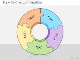 1113 Business Ppt Diagram Flow Of Circular Direction Powerpoint Template