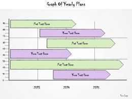 1113 Business Ppt Diagram Graph Of Yearly Plans Powerpoint Template