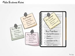 1113 Business Ppt Diagram Make Business Notes Powerpoint Template