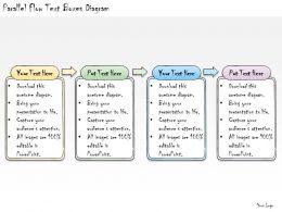 1113_business_ppt_diagram_parallel_flow_text_boxes_diagram_powerpoint_template_Slide01