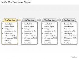 1113_business_ppt_diagram_parallel_flow_text_boxes_diagram_powerpoint_template_Slide02