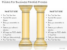 1113 Business Ppt Diagram Pillars For Business Parallel Process Powerpoint Template