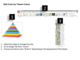 1113 Business Ppt Diagram Pyramid Process 10 Stages For Business Powerpoint Template