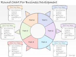 1113 Business Ppt Diagram Round Chart For Business Development Powerpoint Template
