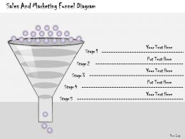 1113 Business Ppt Diagram Sales And Marketing Funnel Diagram Powerpoint Template